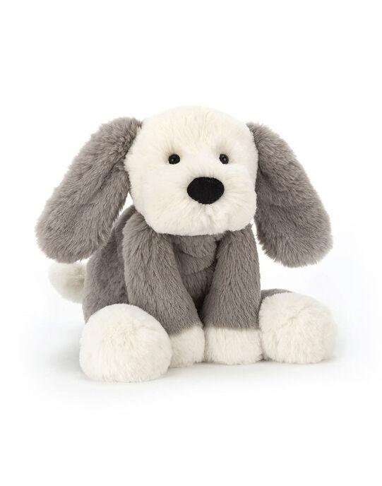 Peluche chien Jellycat grise & blanche 34x9x12 cm dès la naissance CHIEN SMUDGE 34 / 19PJPE004MPE999
