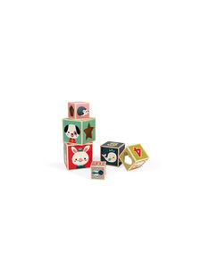 Cubes empilables bois baby forest CUBE BABYFOREST / 17PJJO001JBO999