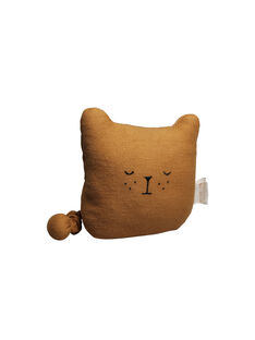Doudou musical bio ours Fabelab ocre 14 cm 0-3 ans DD MUSIC OURS / 19PJJO004MOB999