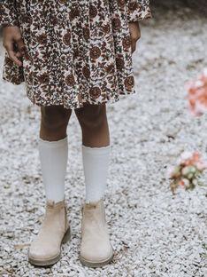 Chaussettes naturel enfant fille DJULIA 468 21 / 21I129611N47009