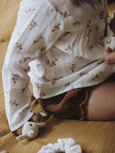 Blouse blanche imprimé fleuri bébé fille DESTINY 21 / 21IU1913N09A015