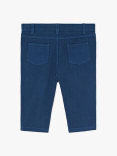 Pantalon coupe droite bleu moyen garçon  ARNAUD 20 / 20VU2012N03208