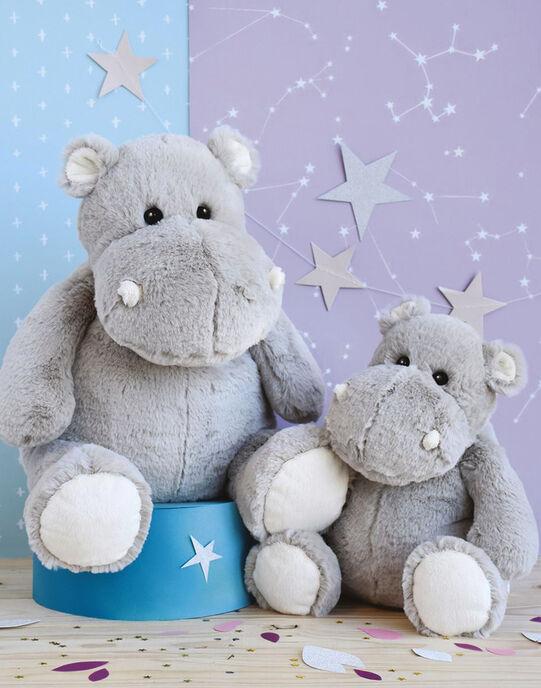 Peluche Hippo'dou gris 25cm HIPPODOU GRIS25 / 18PJPE011PPE940