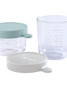 Coffret portions verre 150ml green /250ml mist COFRET 150 250 / 20PRR2002CSV999