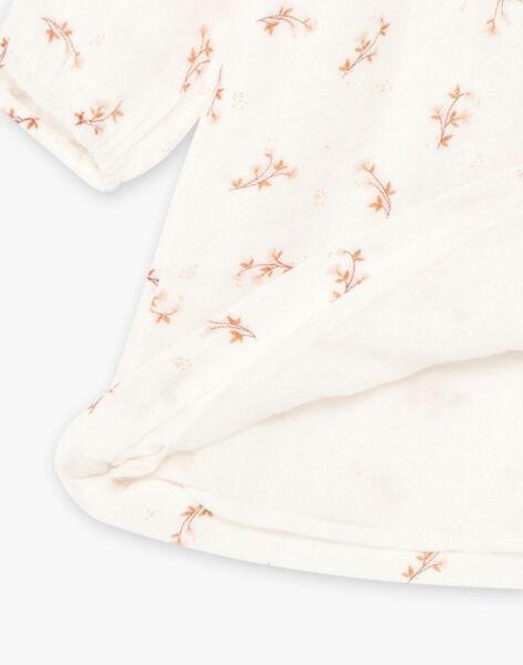 Robe imprimé en gaze de coton biologique DOMITILLE 21 / 21IU1914N18A015