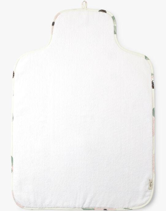 Matelas à langer de voyage vanille imprimé fleurs fille  ADDA-EL / PTXQ6211N79114