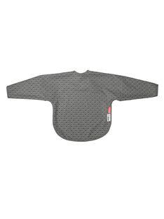 Bavoir gris à manches BAV MANCHE GRIS / 18PRR2009BVR940