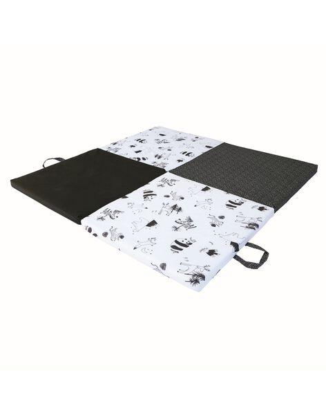 Tapis de motricite noir et blanc TAPIS MOTRICITE / 21PJJO002TEV999