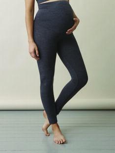 Legging de grossesse mérinos bio Boob gris NOOS BOMERINO W / PTXW2613N3AJ921