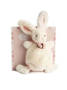 Doudou lapin Bonbon rose LAPIN BONBON DO / 12PJPE022PPE030
