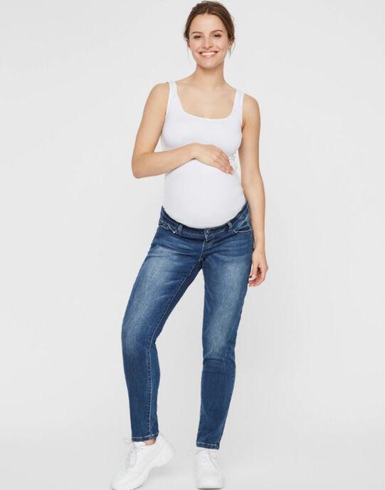 Jean boyfriend de grossesse Mamalicious bleu moyen MLGLOBE JEANS B / 19IW2661N44P270