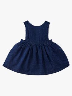 Robe tablier fille en denim fantaisie bleu matière espagnol ANGIE 20 / 20VU1912N18P270