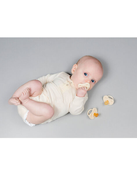 Sucette physiologique caoutchouc milky white 0 3 m SU7 0 3 WHITE / 20PRR1009SUC000