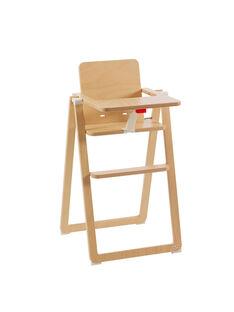 Chaise haute Supaflat bois naturel CHH SUPAFLAT NA / 13PRR2005CHH999
