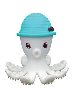 Jouet de dentition pieuvre 3D bleu PIEUVRE 3D BLEU / 17PJJO013AJVC218