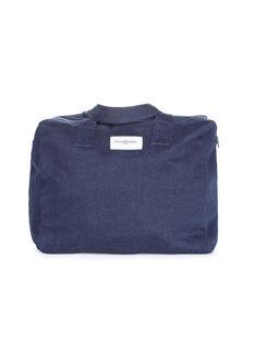 Sac à langer en coton recyclé Célestins Rive droite bleu 33x42x20 cm SCC CELESTIN BR / 19PBDP008SCCK005