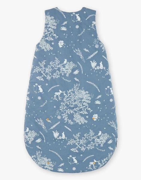 Gigoteuse bleu horizon en popeline de coton imprimée mixte ROBINSON-EL / PTXQ641AN66216