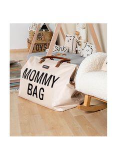Mommy bag large écru noir MOMY BAG EC NOI / 21PBDP007SCC999