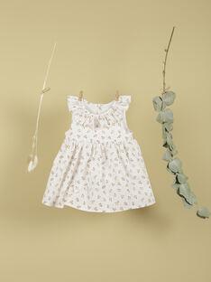Ensemble robe et bloomer vanille fille TUBOUQUET 19 / 19VV2274N18114