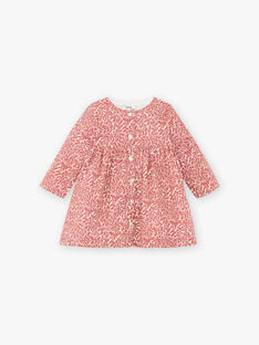 Robe cranberry bébé fille DILAY 21 / 21IU1916N18D304