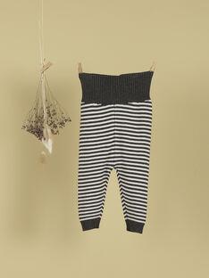 Pantalon rayures grises Fille TARAMA 19 / 19PV2424N03944