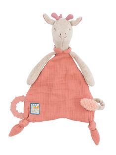 Doudou attache tetine girafe moulin roty DOUDOU GIRAFE / 20PJPE003PPE999