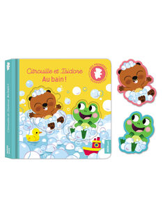 Livre Citrouille et Isidore au bain ! CITROUILLE ISID / 18PJME008LIB999