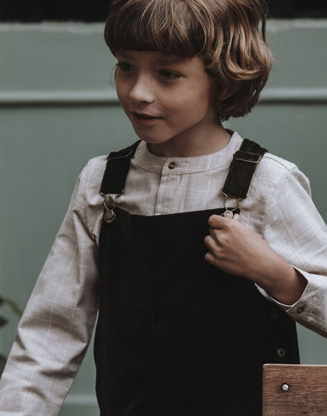 Salopette longue verte enfant garçon DEAUVILLE 468 2 / 21I129211N05600
