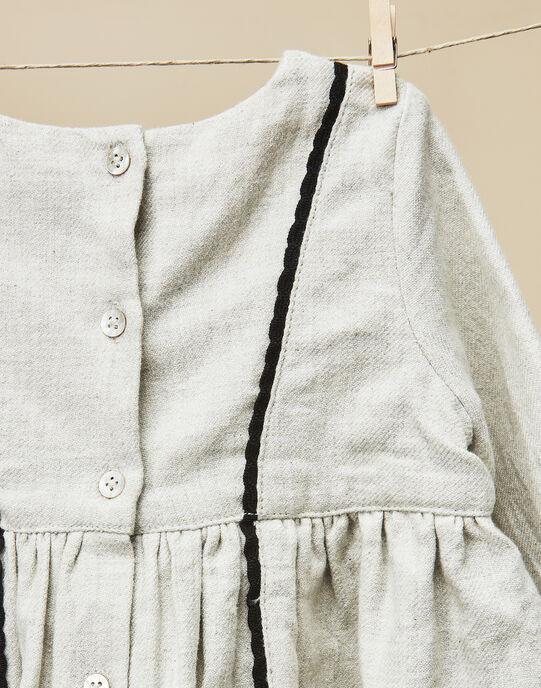 Robe chinée en twill bébé fille  VILAMELIE 19 / 19IU1915N18006
