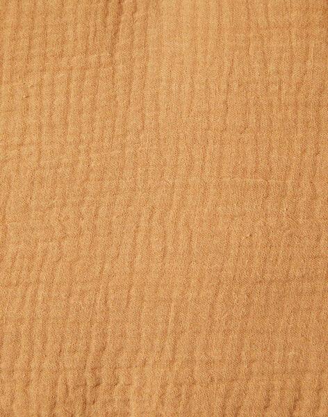 Tapis d'éveil camel en gaze de coton mixte YAFLEURS-EL / PTXQ6412N5A804