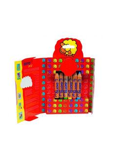 Etui 12 maxi crayons de couleur + taille crayon 12 CRAYONS BOIS / 13PJJO025AJV999