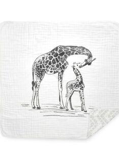 Couverture girafes Hear Me Roar Aden Anais multicolore 120x120 cm dès la naissance COUVERT HEAR ME / 19PCTE009DEL999