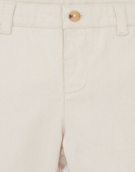 Pantalon chino sable garçon  ARTHUR 20 / 20VU2014N03808