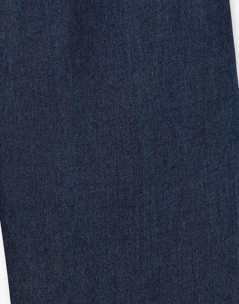Combinaison fille en denim bleu CELIA 468 21 / 21V129111N26201