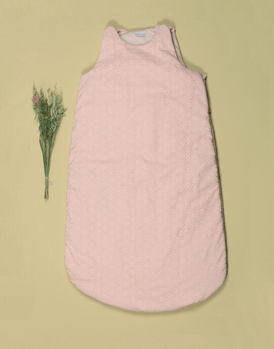 Turbulette rose brodée fille TEBULETTEFI 19 / 19VQ6221N66D300