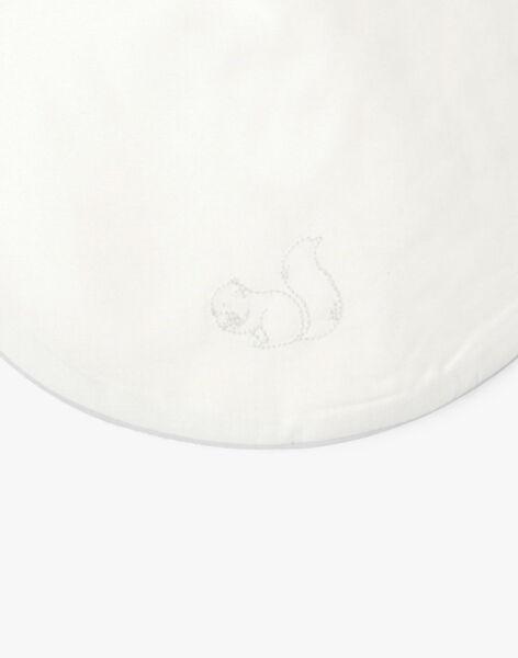 Bavoir mixte vanille brodé écureuil ABASTIEN-EL / PTXQ6415N72114