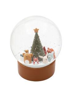 Boule a neige noel des animaux des bois BOUL A NEJ NOEL / 20PCDC015APD999