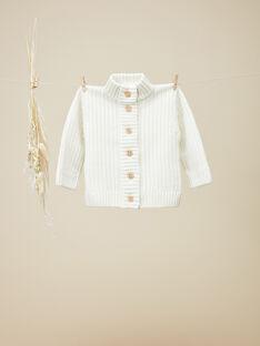 Gilet en tricot fantaisie vanille garçon VENTOU 19 / 19IU2032N12114