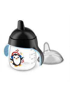 Tasse bec anti fuites noir 260 ml TASS ANTIFUIT N / 15PRR2010VAI090
