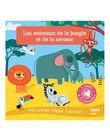 Imagier sonore Les animaux de la jungle et de la savane ANIMAUX JUNGLE / 15PJME015LIB999