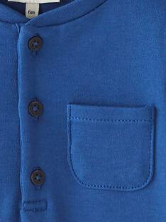 Body uni bleu saphir manche longue garc¸on  BENOIT 20 / 20IU20C1N67C211