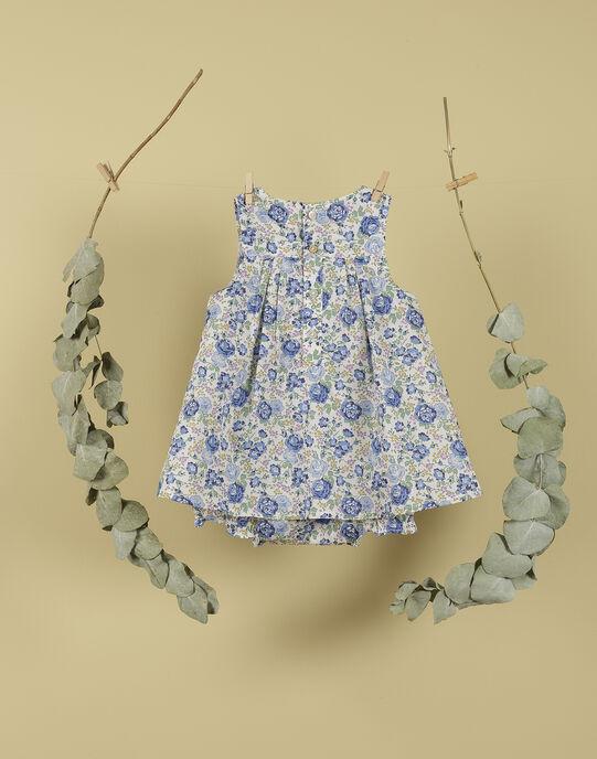 Ensemble robe et bloomer vanille fille TUTTI 19 / 19VV2272N18114
