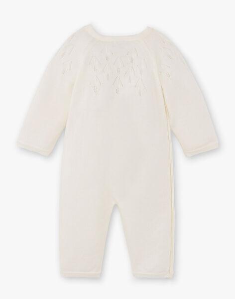 Combinaison tricot fille vanille DIAMAND 21 / 21PV2212N26114