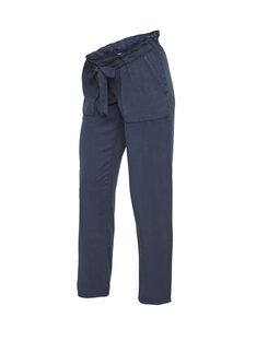 Pantalon de grossesse bleu MLBETHUNE PANT / 19VW2684N03070