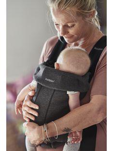 Porte bebe mini gris charbon jersey babybjorn PBB MINI CHARBO / 20PBDP003PBBJ905