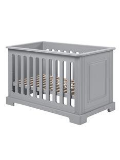 Lit bébé Ines gris 60X120 cm LIT INES GRI / 13PCMB006LBB940