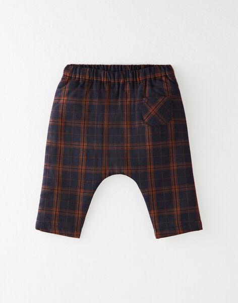 Pantalon sarouel à carreaux garçon  BERTIN 20 / 20IV2351N03070