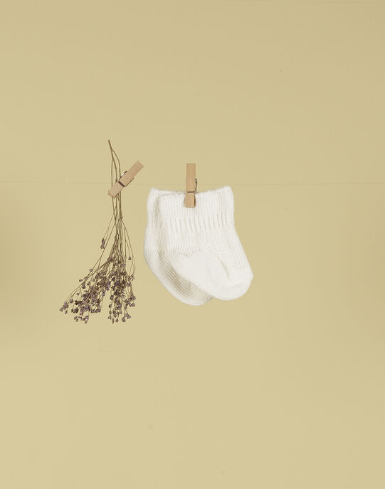 Chaussettes vanille mixte TALAVANILLE 19 / 19PV7021N47114