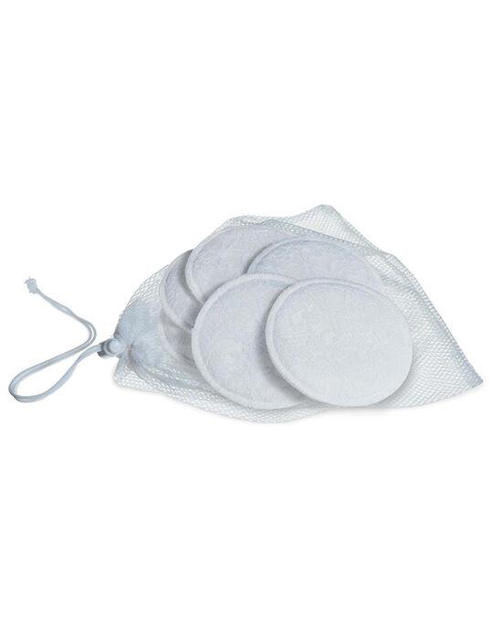 6 Coussinets d'allaitement lavables Philips Avent blancs 6 COUSSINETS LA / 99P8SO002ALL999