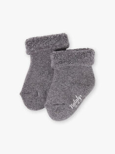 Chaussettes Gris anthracite chiné DISOCK 21 / 21PV7014N47944